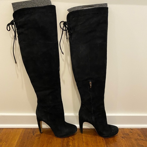 pretty cheap a few days away great deals 2017 Sam Edelman Shoes   Over The Knee Suede Boots   Poshmark